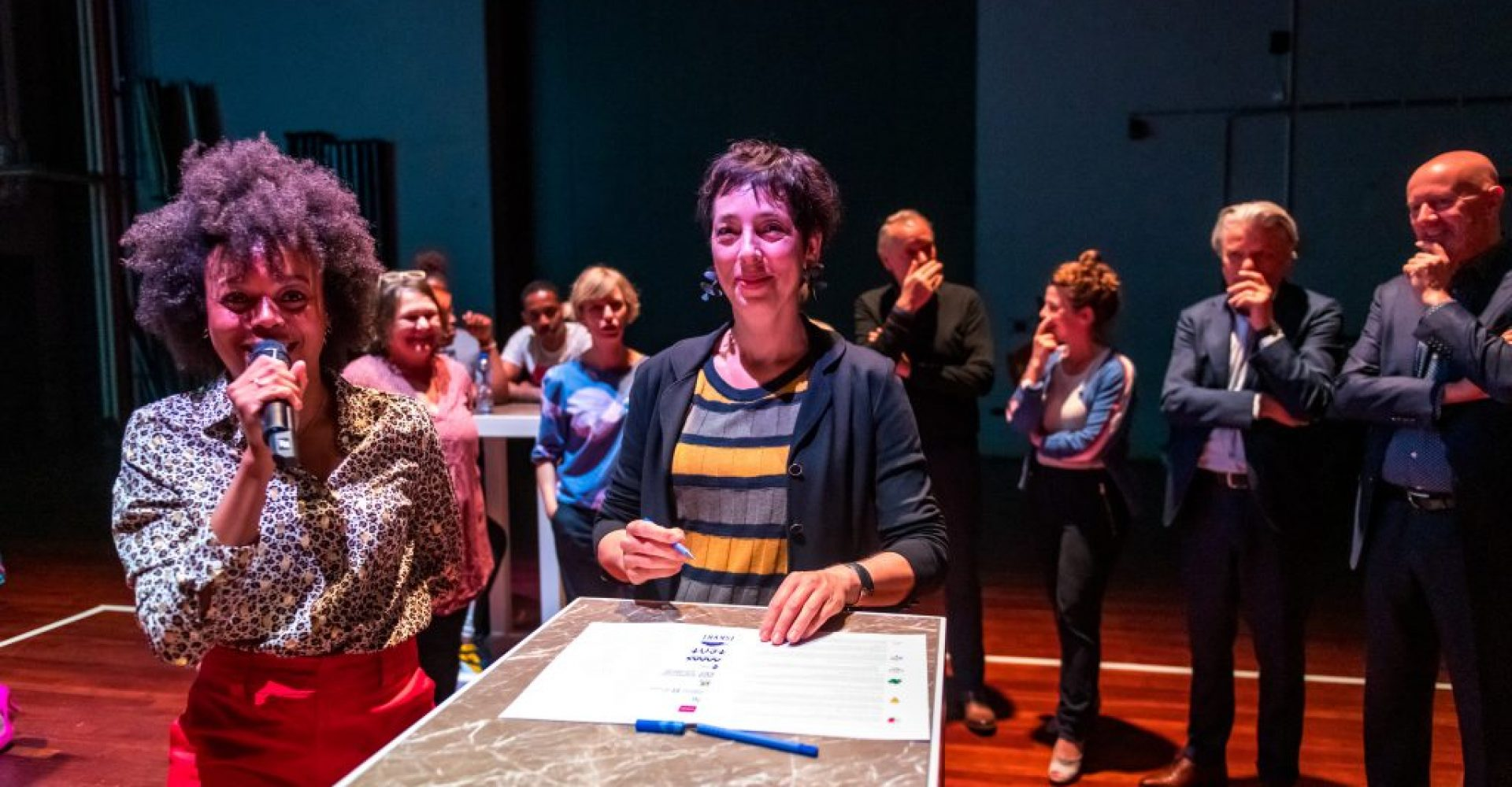 Intentieverklaring Zadkine en 12 culturele instellingen Rotterdam